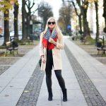 Burgundowe kurtki i płaszcze