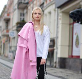 Jesienne sukienki i płaszcze
